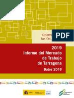 Datos empleo Tarragona