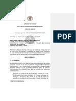 AUTO CONFIRMA LA NO SUSPENSIÓN DE PERSONERO DE RIONEGRO
