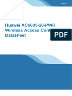 Huawei AC6605-26-PWR Wireless Access Controller Datasheet