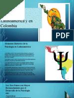 Power point Historia de la Psicologia en Latinoamérica y en Colombia