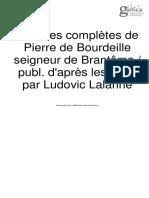 Oeuvres Complètes de Brantôme (4)