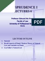 Jurisprudence I UPSA Lecture 6