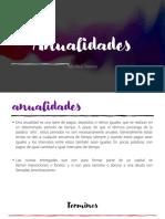 Anualidades