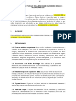 PROCEDIMIENTO PARA LA REALIZACIÓN DE EXÁMENES MÉDICOS OCUPACIONALES.doc