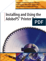 Installing and Using the AdobePS  Printer Driver