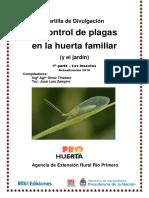 Inta Control de Plagas en La Huerta