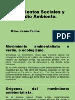 Movimientos sociales ambientalistas
