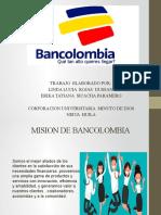Presentación de  la Empresa  BANCOLOMBIA