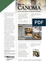 Canoma datasheet