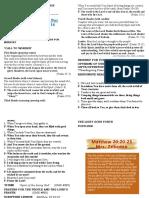 Bulletin-22 May 31A - 2020