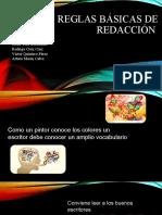 REGLAS DE REDACCION