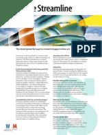 Adobe Streamline brochure