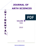 Table of Contents - Continental J. Earth Sciences _Vol 5 _1_, 2010