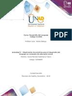 Unidad 3 - Actividad 3 - Observar prácticas para desarrollo del lenguaje- 2