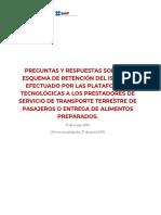 FAQ de IVA e ISR plataformas digitales México