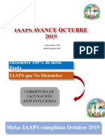IAAPS SANITARIAS AVANCE OCTUBRE 2019.pptx
