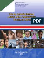 V Guía de atención integral de Niños y adolescentes en violencia