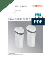 Manual Aquahome 20 30-n 2014 Romania