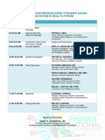 Young Researchers' Forum (PNHRS 2018) - PROGRAMME.pdf