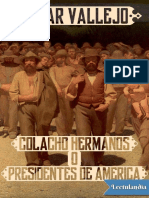 [1934] Colacho hermanos o Presidentes de América; César Vallejo [Perú]