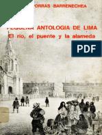 Porras Barrenchea, R.- Pequeña antología de Lima. El río, el puente y la alameda (pp. 1-200)