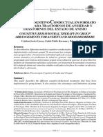Garay, Korman y Keegan - Terapia Cognitivo-Conductual en Formato Grupal para Trastornos de Ansiedad y Trastornos del Estado de Ánimo