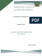 CLASIFICACIÓN DE CORRIENTES ELECTRICAS