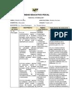 INDICADORES DE EVALUACION  DE ESTUDIOS SOCIALES