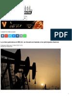 La crisis petrolera en EE.UU. se llevaría en banda a los principales bancos