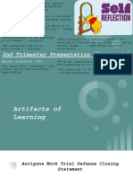 2nd trimester presentation of learning