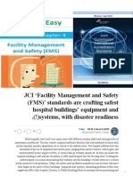 JCI 'Facility Management and Safety (FMS)' standards are crafting safest hospital buildings' equipment and systems, with disaster readiness(!)_