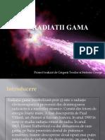 Radiatii gama