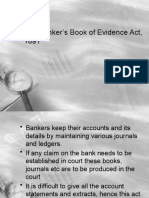 The Banker's Book of Evidence Act, 1891
