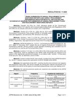 GPPB Resolution No.  11-2020.APP.PMRs