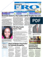 Baltimore Afro-American Newspaper, January 8, 2011