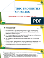 elektric Properties of solids