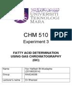 Exp 3 CHM 510