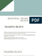 REGIONAL TRADE BLOCS ppt introduction