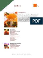Cocktail Rezepte - Kochbuch Cocktails Typ1