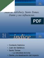 Juan de Salisbury Santo Tomas, Dante