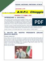 Notiziario del comitato ANPI di Chioggia, numero 57