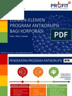 Modul 6 - Elemen-Elemen Program Antikorupsi Bagi Korporasi