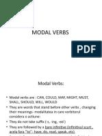 MODAL VERBS- clasa a X a