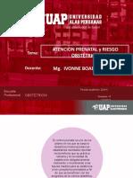 ATENCION PRE NATAL Y FACTORES DE RIESGO CLASE 1  INTERNADO.pptx