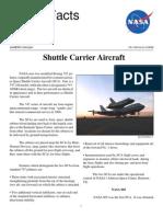 NASA Facts Shuttle Carrier Aircraft