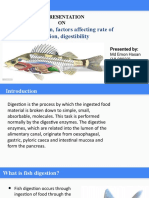 A presentation on aquaculture