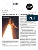 NASA Facts Space Shuttle Use of Propellants and Fluids