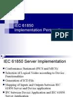 IEC 61850 Implementation