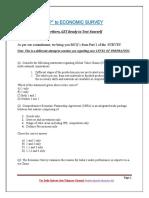 Test Eco Survey PART 1