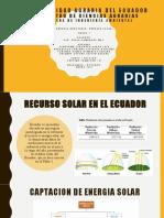 ENERGIA SOLAR - GRUPO 7 - 7 SB- OCEANOGRAFIA- ING AMBIENTAL